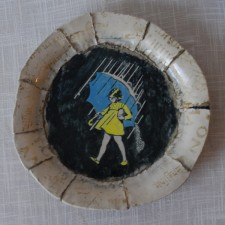 """Morton Salt"" Platter by George Breisch Gonzalez"