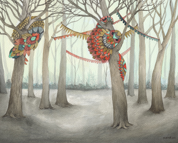 The Quilted Forest by Jess Polanshek